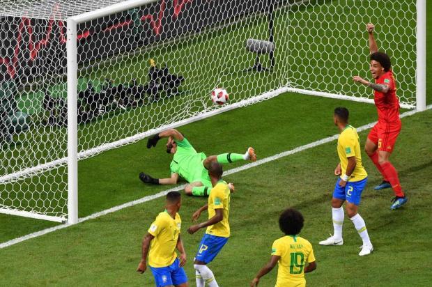 Seleção Brasileira perde para a Bélgica e dá adeus à Copa do Mundo SAEED KHAN/AFP