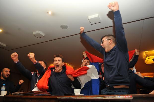 Em Caxias, Seleção croata de Handebol de Surdos comemora vitória da Croácia Lucas Amorelli / Agência RBS/Agência RBS