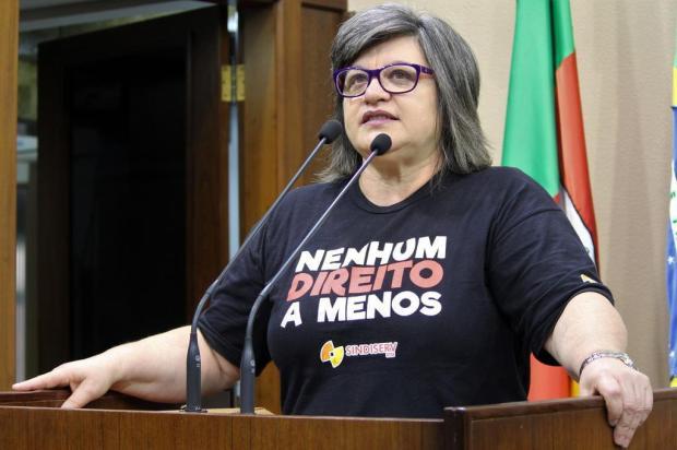 """""""Caxias merece muito mais"""", diz presidente do Sindiserv Franciele Masochi Lorenzett/Divulgação"""