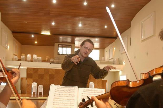 Agenda: maestro Diego Schuck Biasibetti é atração do Quinta Sinfônica nesta quinta, em Caxias Roni Rigon/Agencia RBS