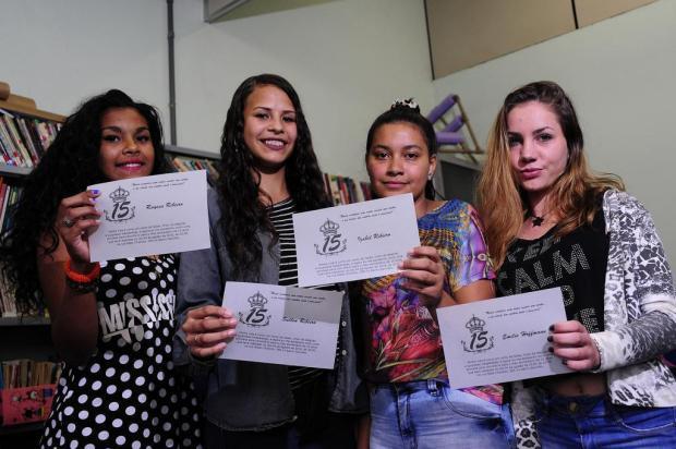 Quatro adolescentes do Mariani, em Caxias do Sul, vão ganhar festa de 15 anos Marcelo Casagrande/Agencia RBS