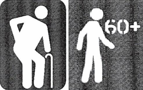 Aprovado em Caxias projeto que altera imagem de placas de atendimento prioritário para idosos Reprodução, Agência RBS/