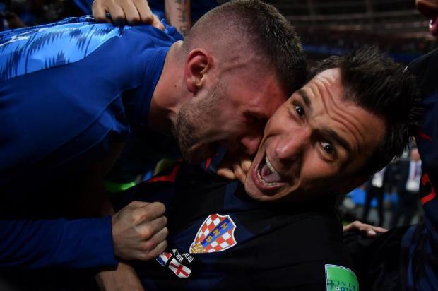 Intervalo: A semifinal de Copa das imagens que ficarão para a história Yuri CORTEZ/AFP