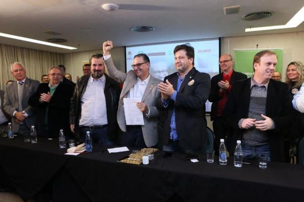 """Lançada frente """"Rio Grande tem solução"""" com pré-candidatura de Jairo Jorge ao governo Carla Bisol/Divulgação"""