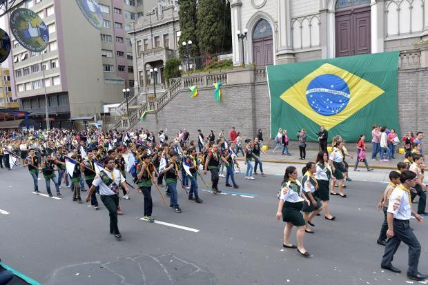 Inscrições para o desfile de Sete de Setembro estão abertas até o dia 3 de agosto, em Caxias Daniel Bianchi / Divulgação/Divulgação