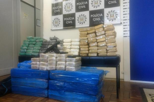 Apreensão de 180kg de drogas é a quarta ação contra quadrilha de Caxias do Sul Leonardo Lopes/Agência RBS