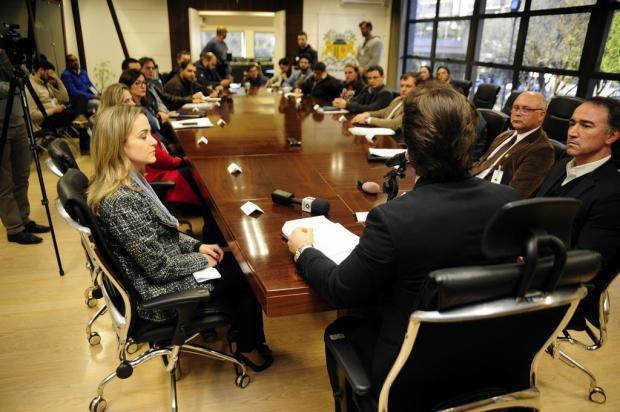 """""""Modelo do Postão se esgotou"""", diz Daniel Guerra durante coletiva sobre novo plantão pediátrico Marcelo Casagrande/Agencia RBS"""