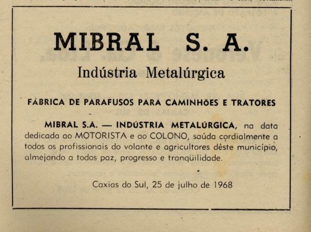 Memória: Às vésperas do Dia do Colono em 1968 Acervo Centro de Memória da Câmara de Vereadores de Caxias do Sul / reprodução/reprodução