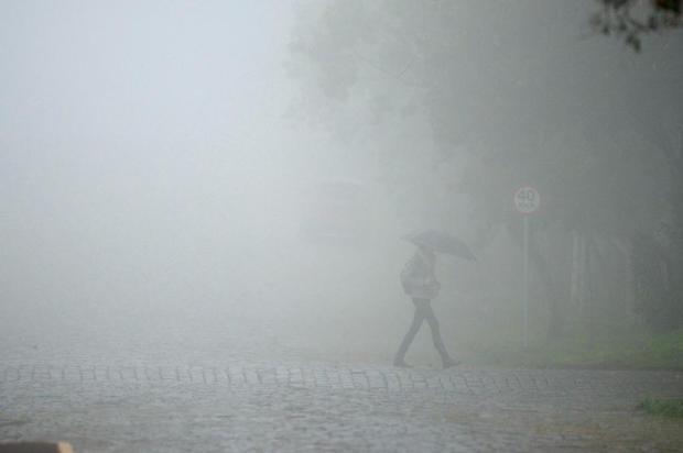Terça-feira inicia com chuva em toda a Serra Diogo Sallaberry/Agencia RBS