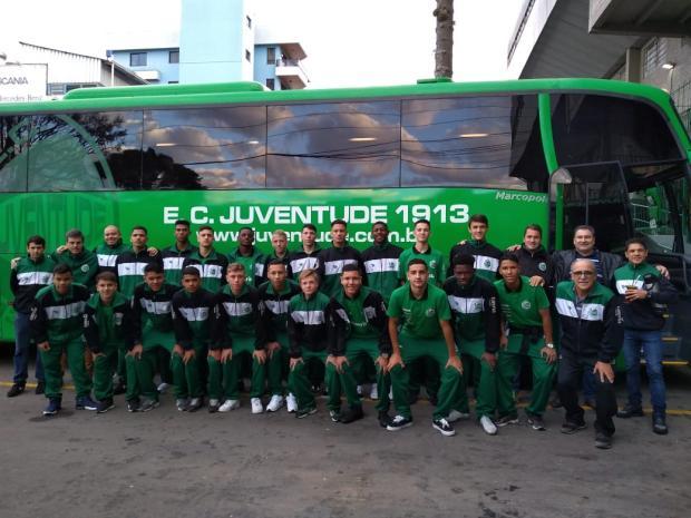 Equipe sub-17 do Juventude inicia participação na Taça BH nesta terça-feira Juventude / Divulgação/Divulgação