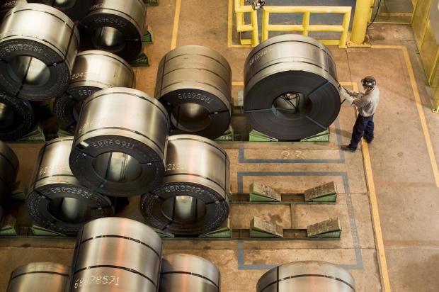 Aumento no preço do aço gera críticas da Fiergs Divulgação/Agencia RBS