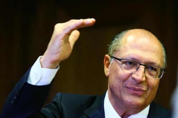 Pré-candidato do PSDB à Presidência, Alckmin estará em Caxias na próxima semana Lauro Alves/Agencia RBS