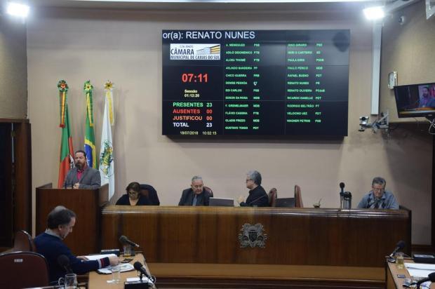 Clima tenso na Câmara de Vereadores de Caxias entre governista e presidente da Casa Juli Hoff/Divulgação