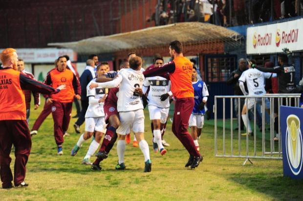 STJD marca julgamento dos incidentes do jogo entre Caxias e Treze pela Série D Porthus Junior/Agencia RBS