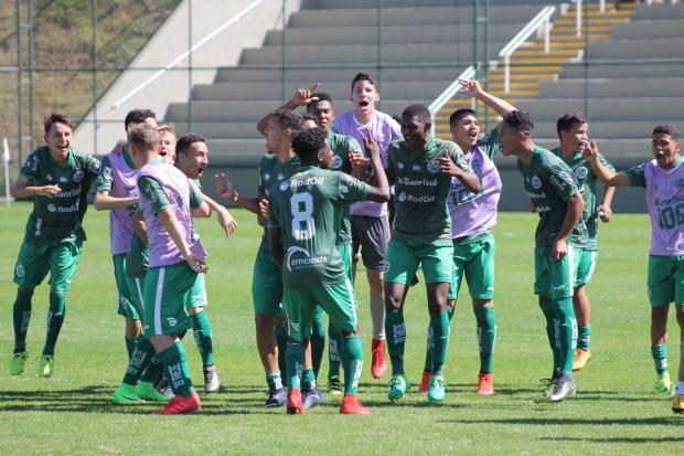 Time sub-17 do Juventude bate o Atlético-MG e avança na Taça BH P2 Assessoria / Divulgação/Divulgação