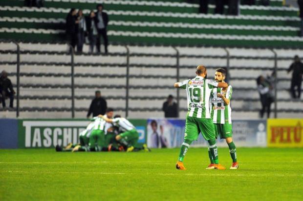 Jogadores do Juventude exaltam apoio do torcedor no segundo triunfo dentro do Alfredo Jaconi Lucas Amorelli/Agencia RBS