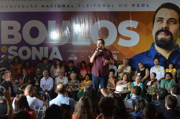 PSOL confirma Boulos como candidato à Presidência da República Rovena Rosa/Agência Brasil