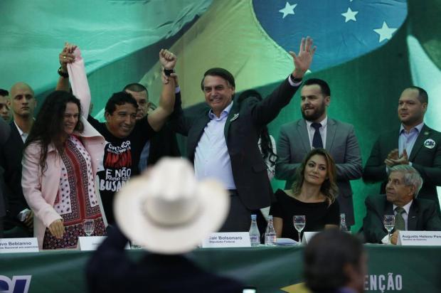 PSL oficializa Bolsonaro como candidato à Presidência Fernando Frazão/Agência Brasil
