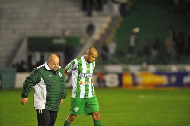 Sequência da formação do Juventude diante da Ponte Preta passa pelas questões físicas Lucas Amorelli/Agencia RBS