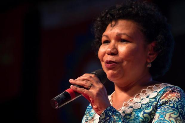 """""""Só uma revolução socialista é capaz de resolver os problemas desde a sua causa"""", defende candidata do PSTU à Presidência Romerito Pontes/Divulgação"""