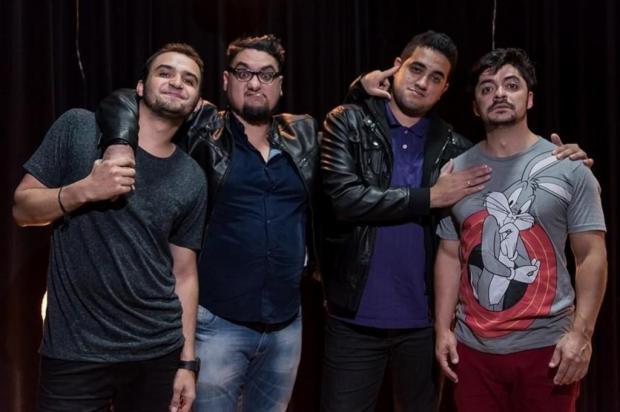 3por4: Apresentação do grupo de humor 4 Amigos terá sessão extra em Caxias Luís França/Divulgação