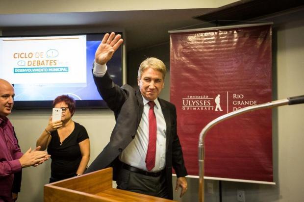 """""""Seria um belo desafio"""", diz Rigotto sobre possível candidatura à vice-presidente Natanael Engel/Divulgação"""