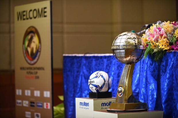 ACBF conhece adversários da Copa Intercontinental de Futsal Copa Intercontinental de Futsal / Divulgação/Divulgação
