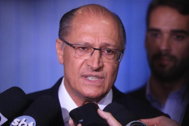Cancelada agenda do pré-candidato do PSDB à Presidência, Alckmin, nesta terça em Caxias André Ávila/Agencia RBS