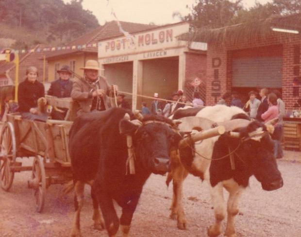 Dia do Colono e do Motorista: 45 festas em Otávio Rocha Acervo pessoal de Floriano Molon / divulgação/divulgação