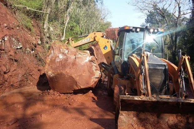 Não há obra prevista para contenção de deslizamentos na BR-116, em São Marcos Divulgação/PRF