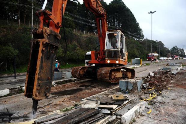 Começam as obras no acesso a Forqueta, em Caxias Diogo Sallaberry/Agencia RBS