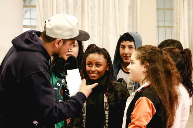 Alunos da rede pública de Caxias do Sul soltaram a voz e a rima no projeto Cultura Hip Hop nas Escolas Jéssica Drew/Divulgação