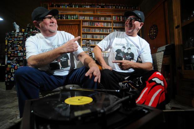 DJs Jaime Rocha e Rocha Netto revivem clássicos dos anos 1980 neste sábado Felipe Nyland/Agencia RBS