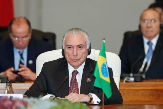 Após Cúpula do Brics, Temer desembarca em Brasília na noite desta sexta-feira Cesar Itiberê / Divulgação/Divulgação
