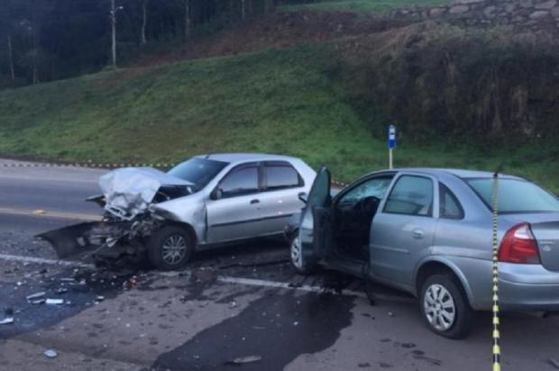 Mulher morre em acidente na Rota do Sol, em Caxias do Sul Cristiano Lemos / Agência RBS/Agência RBS