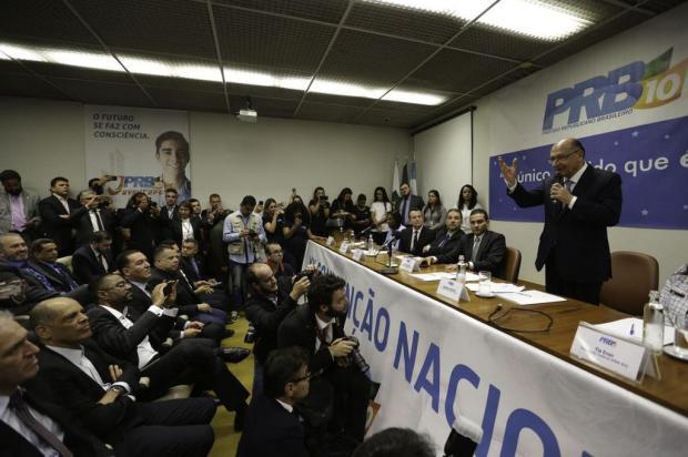 PRB oficializa apoio à candidatura de Alckmin Fabio Rodrigues Pozzebom/Agência Brasil