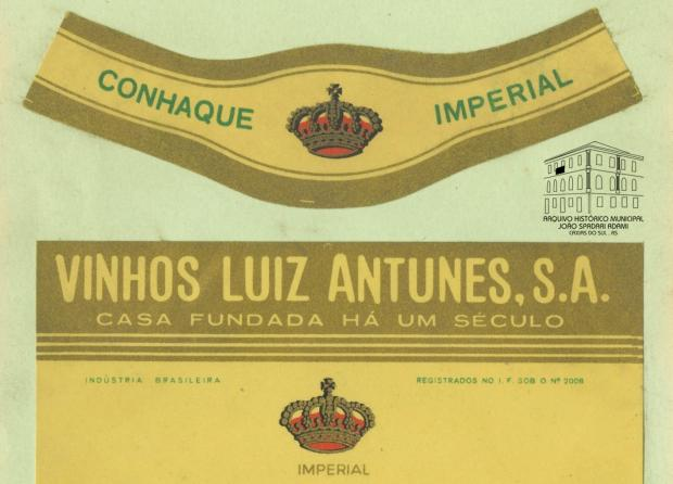 Memória: Cantina Antunes em rótulos e receitas Acervo Arquivo Histórico Municipal João Spadari Adami / divulgação/divulgação