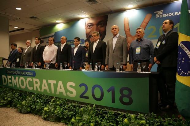 DEM oficializa apoio a Alckmin à Presidência da República José Cruz / Agência Brasil/Agência Brasil