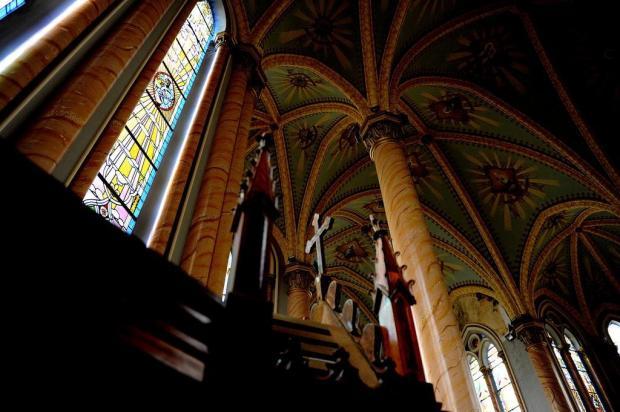 Polêmica marca reforma da Catedral de Vacaria Lucas Amorelli/Agencia RBS