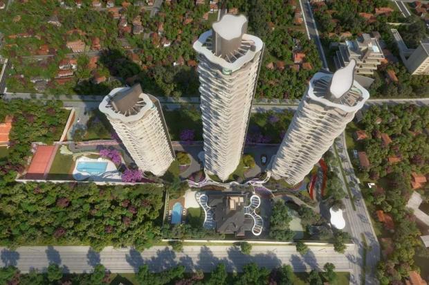 Fabricante da Serra fornecerá móveis para luxuoso residencial em Assunção Jimenez Gaona e Lima/reprodução