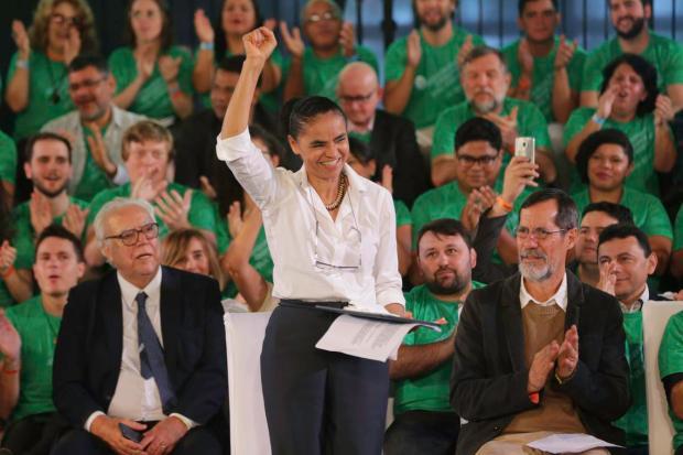 Rede oficializa Marina Silva como candidata à Presidência da República Fabio Rodrigues Pozzebom / Agencia Brasil/Agencia Brasil