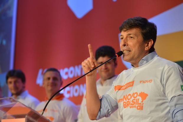Partido Novo confirma João Amoêdo como candidato a presidente Rovena Rosa / Agência Brasil/Agência Brasil