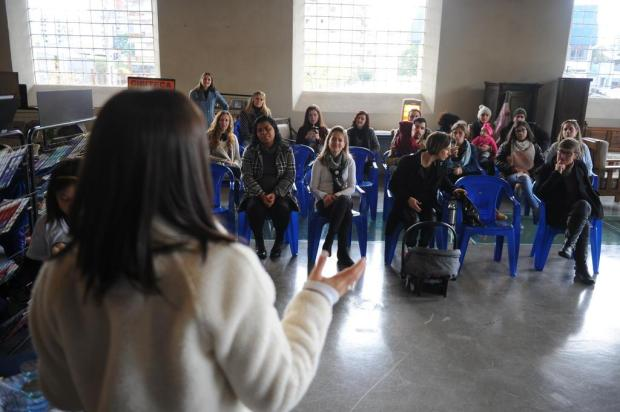 Evento reúne mães para conscientização sobre amamentação em Caxias Felipe Nyland/Agencia RBS