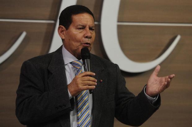 Em palestra na CIC de Caxias do Sul, vice de Bolsonaro apresenta propostas Marcelo Casagrande/Agencia RBS