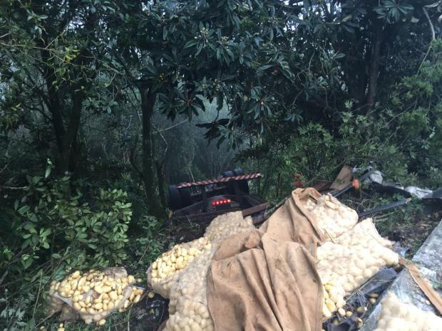 Motorista morre em acidente na ERS-122 em Antônio Prado Cristiano Lemos/Agência RBS