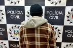 Polícia prende autor confesso de assassinato de idoso em Vacaria Polícia Civil/Divulgação