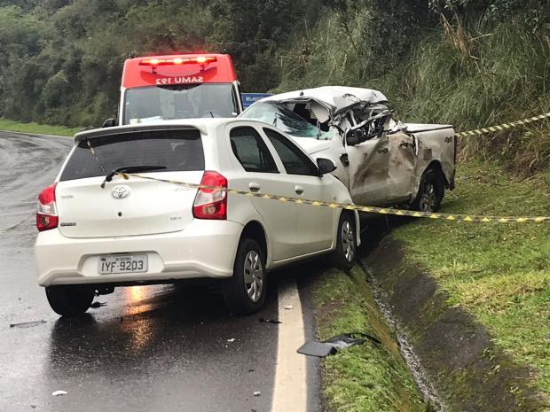 Motorista morre em acidente envolvendo três veículos na RS-453, na Serra Altamir Oliveira / Rádio Estação Fm/Rádio Estação Fm