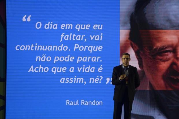 Legado de Raul Randon é compartilhado em evento em Gramado Cássio Brezzola/divulgação