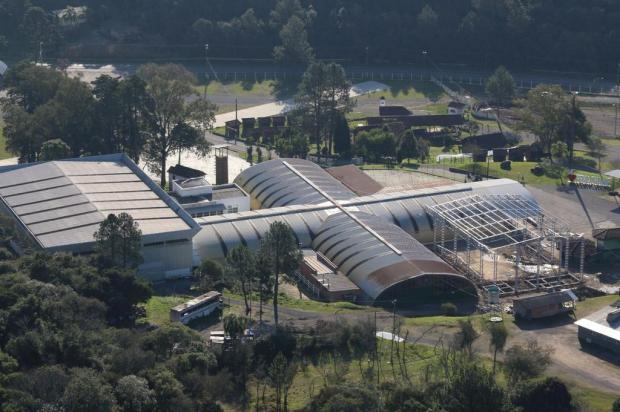 Parque da Fenachamp, em Garibaldi, ganhará novo pavilhão para a próxima edição Priscila Pilletti/Divulgação