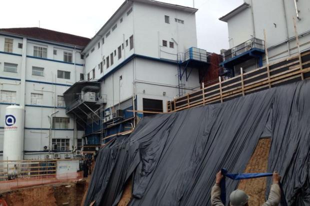 Hospital Pompéia, de Caxias do Sul, inicia obras de ampliação Flavia Noal/Agência RBS
